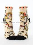 Носок лодыжки способа оптовой продажи нестандартной конструкции для женщин или девушок