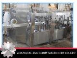 Botella de agua mineral plástica que hace la máquina