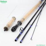 11 pies a 11FT6in 6 / 7wt Interruptor alto contenido de carbono caña de pescar con mosca
