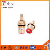 Noyau de valve convenable de cartouche de laiton du laiton 25mm de cuisine de robinet à la maison de taraud