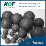 Usado para a construção e a esfera de moedura de aço laminada a alta temperatura e forjada química