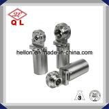 Fatto in valvola a farfalla pneumatica premuta sanitaria dell'acciaio inossidabile della Cina Dn50