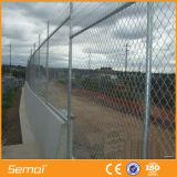 ダイヤモンドの金網18mの長さのチェーン・リンクの塀のための中国の製造者