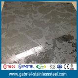 Hoja de acero inoxidable decorativa de AISI 304