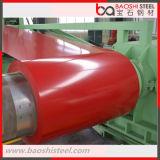 La costruzione PPGI del tetto ha preverniciato la bobina della lamiera di acciaio