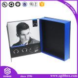Rectángulo de regalo de papel de empaquetado de la cartulina magnética plegable del encierro