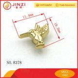L'insigne en alliage de zinc de forme mignonne d'oiseau ouvre le logo