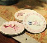 Esteira/Coaster cerâmicos do copo do presente da impressão livre diferente do estilo