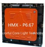 Armadietto di esposizione impermeabile esterno del LED di P6.67 P8 P10 P16 P20