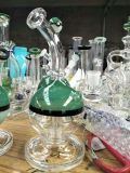 USA der Spitzenverkauf passen Firmenzeichen-rauchendes Wasser-Glasrohr an