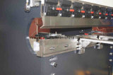 Máquina de dobra hidráulica da placa Wc67y-125X4000 de aço