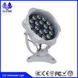 水ライトLED小型軽い水中の下の最も普及したDMX 512 LED