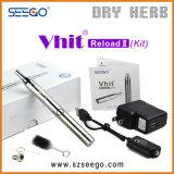 Kit de vaporisateur breveté Seego Vhit Reload W & D 2 en 1 vaporisateur avec verre Globe