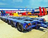 모듈 유압 반 트레일러 200 톤 다중 차축