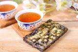 Tipo chá do chocolate do plutônio Er com sabor encantador da flor do jasmim na caixa de presente