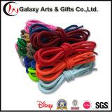 Шнурок Non-Slip Multicolor прочной веревочки полиэфира круглый