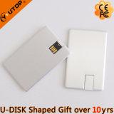 Lecteur flash USB par la carte de crédit en aluminium d'émerillon comme cadeaux de cuvette (YT-3114-03)