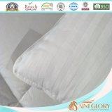 Cuscino bianco della banda della ratiera di formato standard del cotone puro