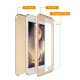 Alta qualidade casos híbridos cheios completos da tampa do PC Matte de 360 graus para o iPhone 6/7 e 7 positivos