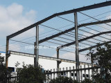 De pre-gebouwde StandaardGebouwen van de Workshop en van het Staal van het Pakhuis van het Staal