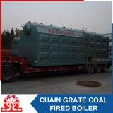 産業Szl25-3.82MPaの二重ドラム水平のチェーン火格子の蒸気ボイラ