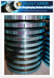 Selbstklebende einzelne seitliche blaue Farbe lamellierte Aluminiumfolie-Band (AL-PET) Al-Plastik Band