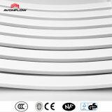 Avonflow blanca curvada ropa de baño del estante (AF-SE)