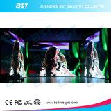 Écran de publicité d'intérieur noir fait sur commande d'Afficheur LED de l'aluminium P5 HD DEL pour l'exposition automatique