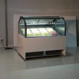 中国の工場アイスクリームのアイスキャンデーの表示