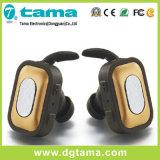 Auscultadores estereofónico sem fio de Bluetooth da forma nova micro com microfone