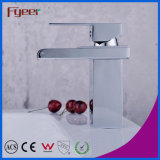 Fyeer Robinet rectangulaire à arc court Fyeer Robinet à lavabo à eau simple Robinet à lavabo