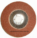 Dischi della falda con il panno incluso di a/O per acciaio unito in lega, alluminio, metalli non ferrosi e plastica, legno
