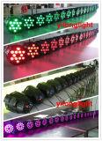Rondelle de mur de l'aluminium 12PCS Rgbawuv DEL de prix concurrentiel