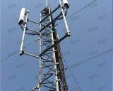 屋根の上の電気通信タワー