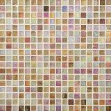 Mosaico di vetro della pietra della miscela del mosaico della stanza da bagno dell'hotel per la parete