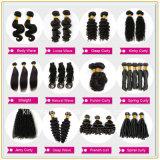 Бразильский свободный парик человеческих волос волос девственницы волны
