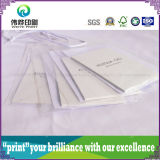 Étiquette de papier de empaquetage de coup d'impression de PVC de corde blanche