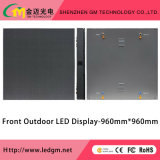 Tela de indicador dianteira do diodo emissor de luz do anúncio ao ar livre Digital da manutenção, cor cheia de P16mm