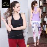 Neue Ankunfts-Backless Trägershirt-Frauen-Tragbalken-Yoga-Westen