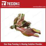 La venta superior de Tecon galvanizó el acoplador de ángulo recto presionado del andamio