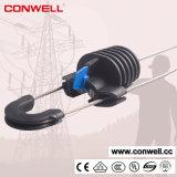 Зажим кабеля пластмассы линии электропередач