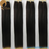 30% de réduction Natural Black Brazilian Remy Human Hair Tape Hair