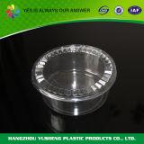 устранимый круглый пластичный контейнер еды 48oz с крышкой