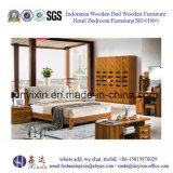 Mobília chinesa do quarto da mobília do hotel da mobília da HOME da mobília (B701A#)