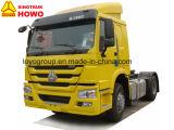 熱い販売HOWO 371HP 4X2のトラクターのトラックのダンプカートラック
