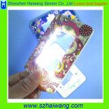 Hw-212Xのシルクスクリーンの印刷の昇進のギフトアクリルレンズのためのカスタムポケットLED拡大鏡または拡大鏡PVC磁気ストライプのカード