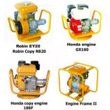 Вал нового бензинового двигателя 2016 и конкретной вибромашины для светлого машинного оборудования конструкции