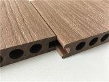 Panneau composé de plastique en bois du Decking WPC de maintenance très réduite extérieure
