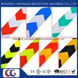 Belüftung-Zoll gedruckter reflektierende Sicherheits-warnender Aufkleber mit Pfeil (C3500-AW)
