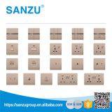 Precio de fábrica de la alta calidad todos los tipos de interruptor de la pared